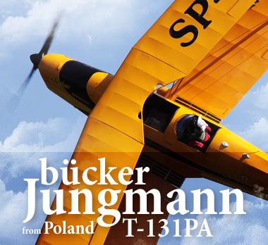 Bücker Jungmann T-131PA